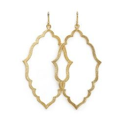Always Beautiful Moroccan Gold Dipped Earrings