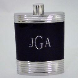 Vera Wang Debonair Style Engraved Flask