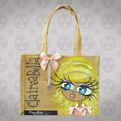 Personalized Polo Jute Bag