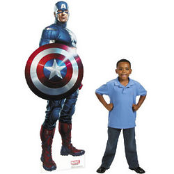 The Avengers Captain America Life Size Stand-Up