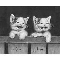 Kittens II Personalized Print