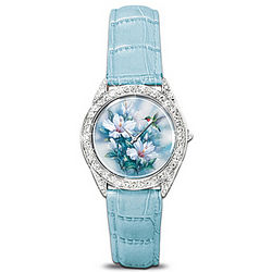 Crown Jewels of Nature Watch with Swarovski Crystals