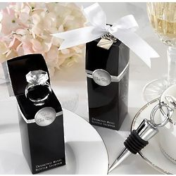 Diamond Ring Wine Stoppers