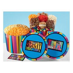 Thank You 3-Flavor Popcorn Tin