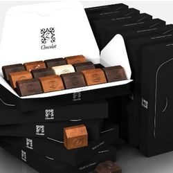 12-Pack You Can Never Have Too Much French Chocolates Gift Box
