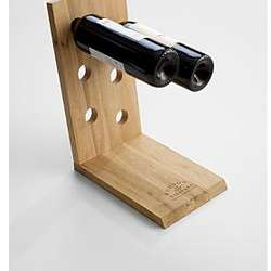 Wooden 6-Bottle Wine Rack