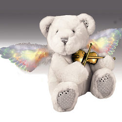 Fiber Optic Musical Angel Bear