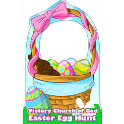 Easter Basket Personalized Standee