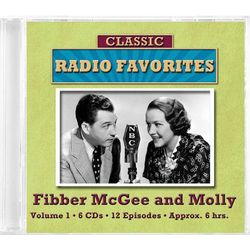 Fibber Mcgee and Molly Classic Radio Favorites CD Set
