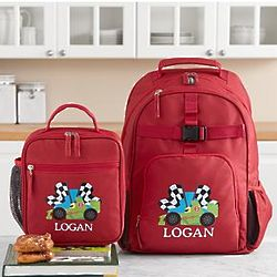 Personalized Fun Graphic Backpack and Lunchbox