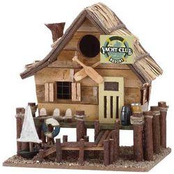Wooden Yacht Club Bird House