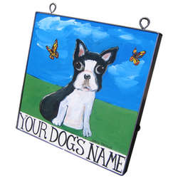 Personalized Dog Art Plaques