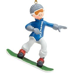 Snowboarder Ornament