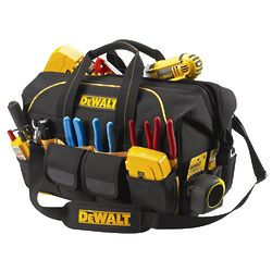 DeWalt 18 Inch Pro Contractor's Closed Top Tool Bag
