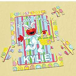 Personalized Easter Bunny Elmo Puzzle