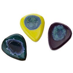 Glam Rock Ceramic Guitar Pick