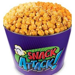 Snack Attack Popcorn Gift Tin