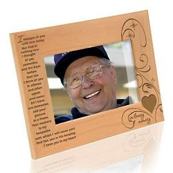 I Thought of You Memorial Picture Frame