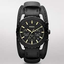 Keaton Leather Watch