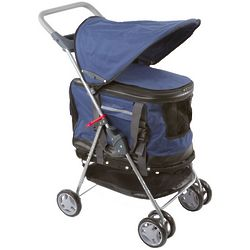 Animal Stroller, Carrier and Safety Seat in Blue