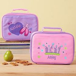 Girl's Create Your Own Personalized Lunchbox