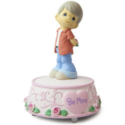 Precious Moments Be Mine Musical Boy Figurine