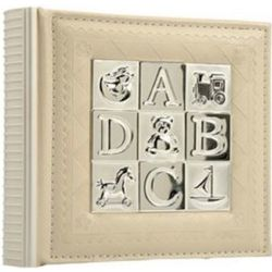 ABC Silver-Plated Baby Photo Album