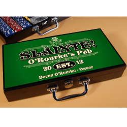 Slainte Classic Personalized Poker Set