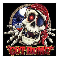 Got Rum Pirate Skeleton T-Shirt