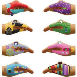Robot Hands Tattoos