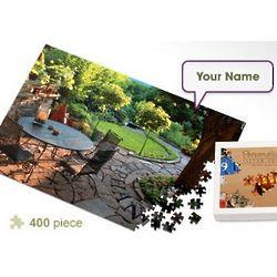 Personalized Garden Walkway Jigsaw Puzzle