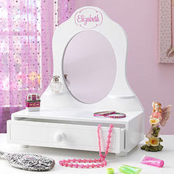Kid's Personalized Vanity Mirror