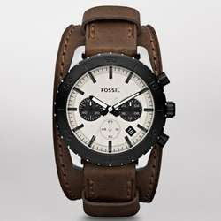 Brown Keaton Leather Watch
