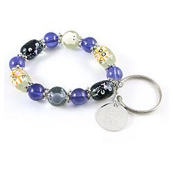 Love Cats Personalized Charm Bracelet Key Chain