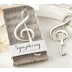 Symphony Music Note Bottle Openers