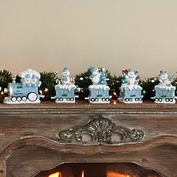 Personalized Snow Buddies Holiday Express Train