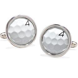 TPC Sawgrass Golf Ball Cufflinks