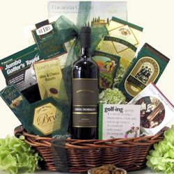 Greg Norman Estates Shiraz Golf & Wine Gift Basket