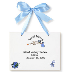 Personalized Adoption Birth Certificate Plaque