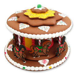 Christmas Gingerbread Carousel