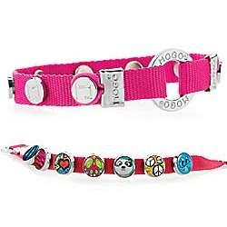 Pink Mogo Charmband Bracelet