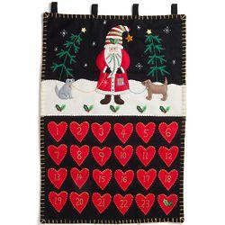 Handmade Felt Santa Advent Calendar