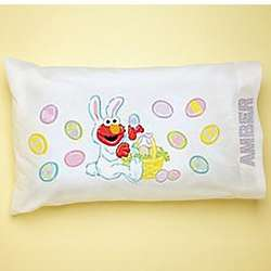 Personalized Elmo Easter Pillowcase