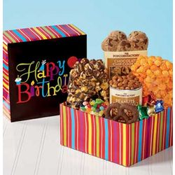 Happy Birthday Wishes Popcorn Sampler