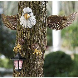Solar Eagle Tree Hugger
