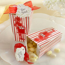 Baby Shower Popcorn Box Favors