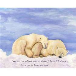 The Warmest Love Personalized Print