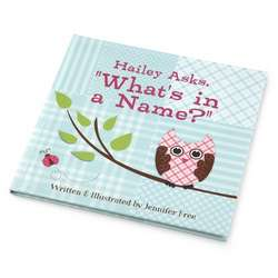 Personalized What is in a Name Book