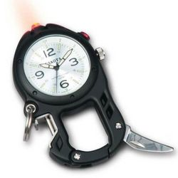 Zip Clip Watch with LED Light and Tools