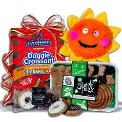 Dog Lovers Gift Basket